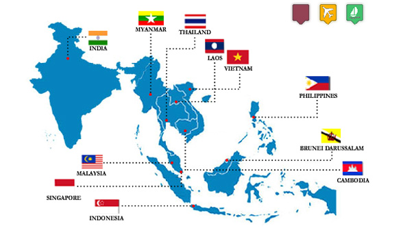 Asean country image